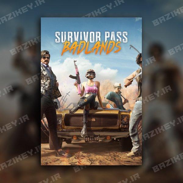 خرید PUBG Survivor Pass 5: Badlands