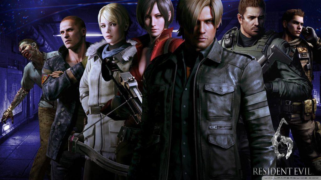 تصاویری از محیط بازی Resident Evil 6