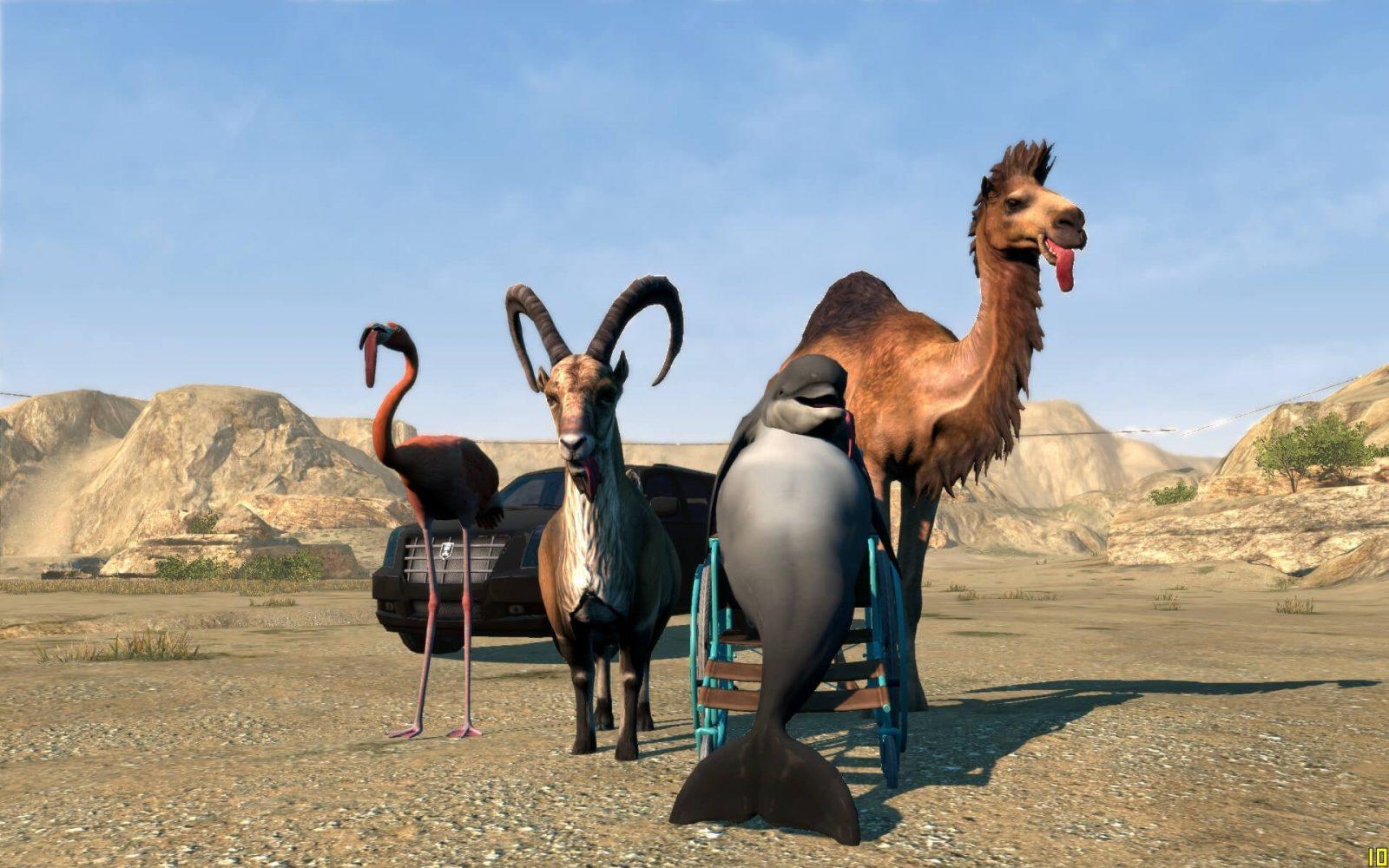 خرید بازی اورجینال Goat Simulator