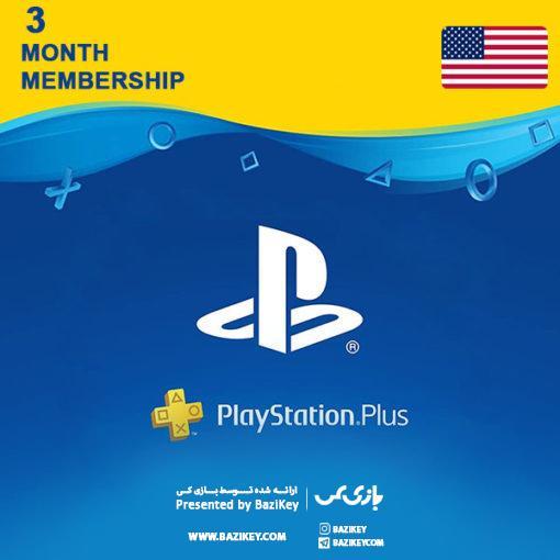 خرید  PLAYSTATION PLUS  سه ماهه آمریکا