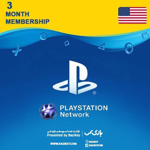 خرید  PLAYSTATION Network Card  سه ماهه آمریکا