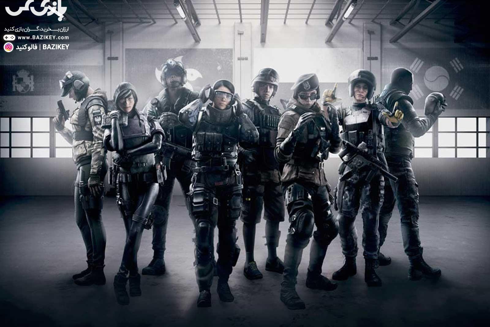 دانلود بکاپ استیم Tom Clancys Rainbow Six Siege